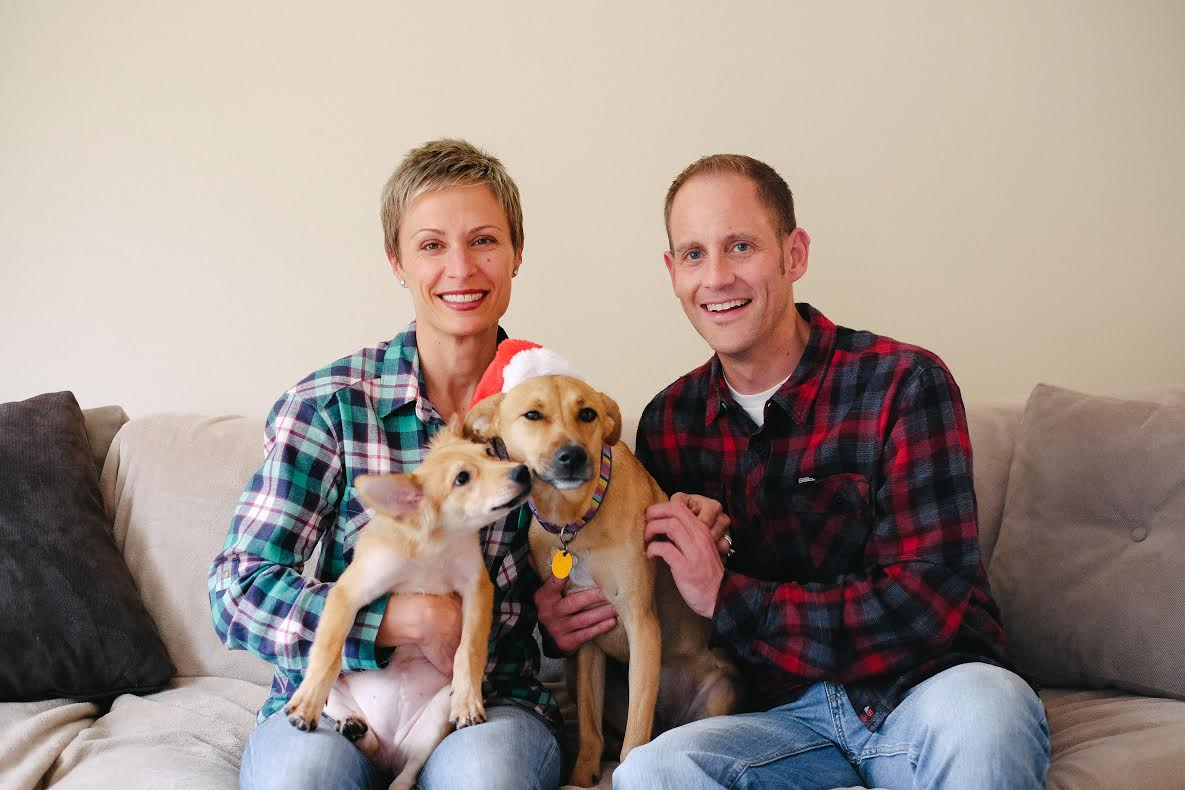 Happy Tails | Jess & Mike with Tessa & Maggie